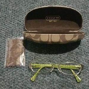 Coach Glasses W/case